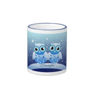 Cute Winter, Holidays, Name custom Mug