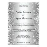 Cute winter wedding Invitation Custom Invites