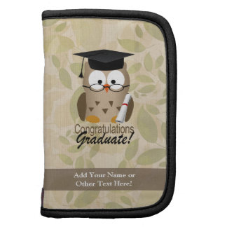 Cute Wise Owl Graduate Planners