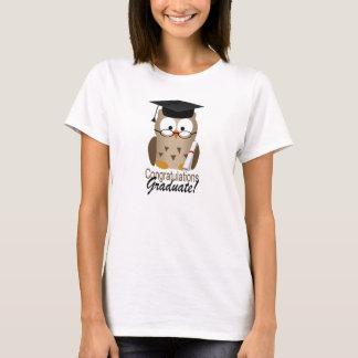 Cute Wise Owl Graduate T-Shirt
