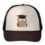 Cute Wise Owl Graduate Trucker Hat