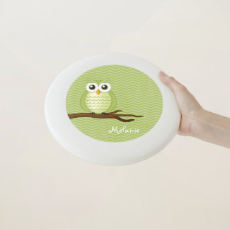 Cute Wise Owl | Personalizable gifts Wham-O Frisbee