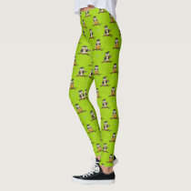 Cute Wise Owls Pattern Leggings