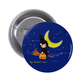 Cute witch! 2 inch round button