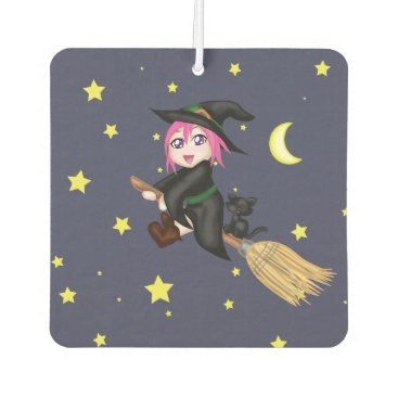 Halloween Themed Cute Witch Car Air Freshener
