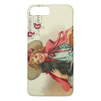 Cute Witch Girl Black Cat Pumpkin iPhone 8 Plus/7 Plus Case