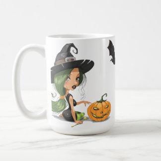 Cute Witch Halloween Coffee Mug