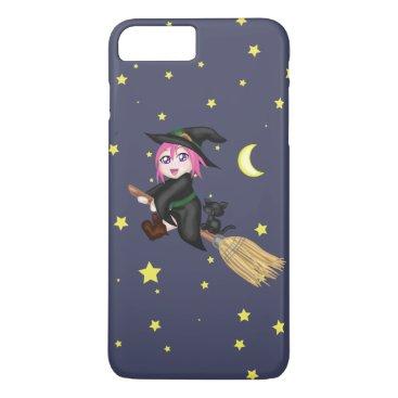 Halloween Themed Cute Witch iPhone 8 Plus/7 Plus Case