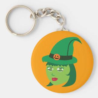 Cute Witch Keychain