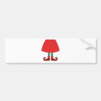 Cute witch legs original Art Bumper Sticker