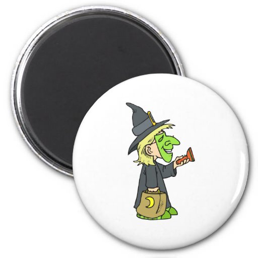 Cute WItch Magnet