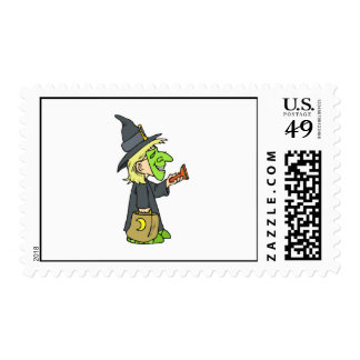 Cute WItch Postage