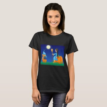 Halloween Themed Cute Witch T-Shirt