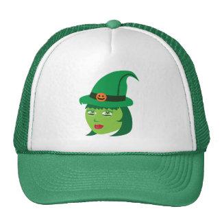 Cute Witch Trucker Hat