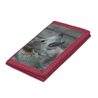 Cute Wolf Tri-fold Wallet