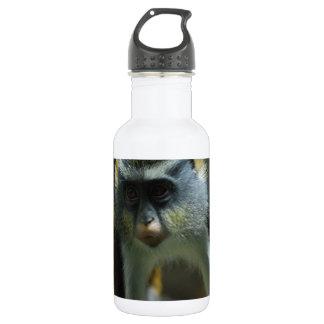 Cute Wolf's Monkey 18oz Water Bottle