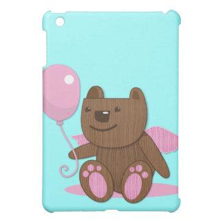 Cute wooden bear bearing gifts iPad mini cover
