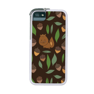 Cute woodland animal chipmunk pattern case for iPhone SE/5/5s