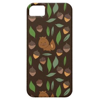 Cute woodland animal chipmunk pattern iPhone SE/5/5s case