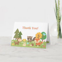 Cute Woodland Animal Thank You