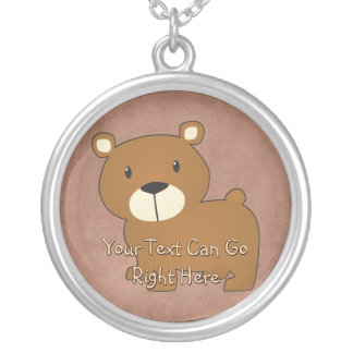 Cute Woodland Bear Necklace