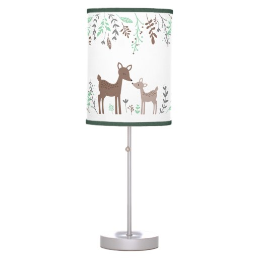 Cute Woodland Deer Table Lamp