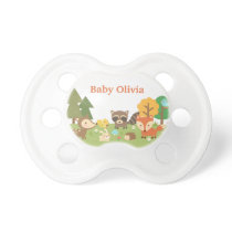 Cute Woodland Forest Animals For Babies Pacifier