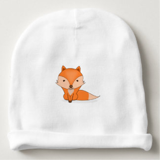 Cute Woodland Fox Baby Beanie