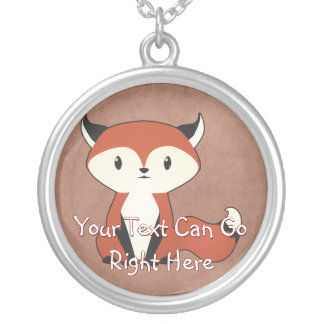 Cute Woodland Fox Necklace