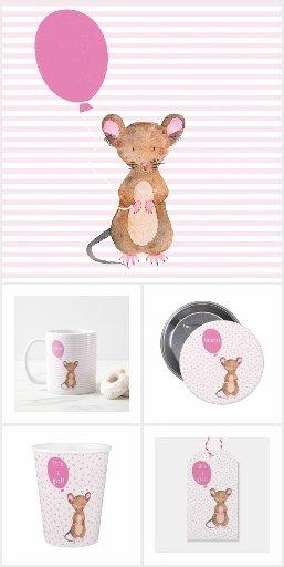 Cute Woodland Mouse Baby & Kids Collection
