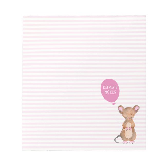 Cute woodland Mouse Personalized