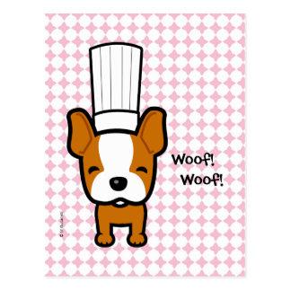 Cute Woof Woof Dog Postcard