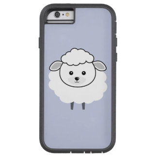 Cute Wooly Lamb Face Tough Xtreme iPhone 6 Case