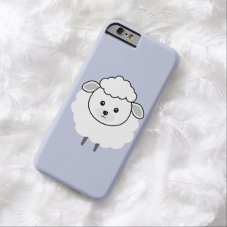 Cute Wooly Lamb Face Barely There iPhone 6 Case