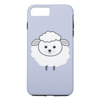 Cute Wooly Lamb Face iPhone 7 Plus Case