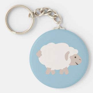 Cute Wooly lamb Keychain