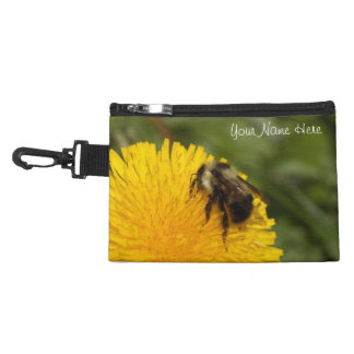 Cute Worker Bee; Customizable Accessory Bags