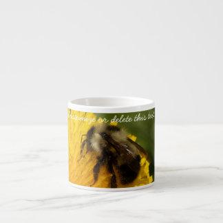 Cute Worker Bee; Customizable Espresso Cup