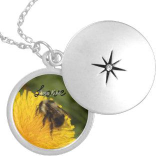 Cute Worker Bee; Customizable Locket Necklace