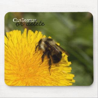 Cute Worker Bee Customizable Mousepad