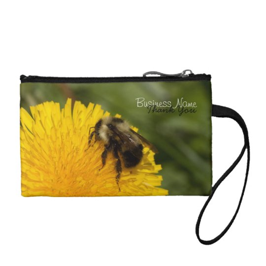 Cute Worker Bee; Promotional Coin Purse