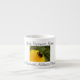 Cute Worker Bee; Promotional Espresso Cup