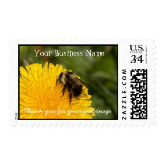Cute Worker Bee; Promotional Postage Stamp