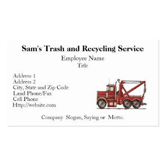 Cute Wrecker Truck Business Cards