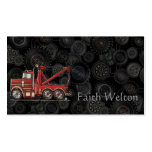 Cute Wrecker Truck Double-Sided Standard Business Cards (Pack Of 100)