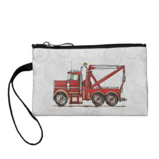 Cute Wrecker Truck Change Purse