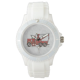 Cute Wrecker Truck Wristwatch