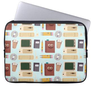Cute Writing Tools Laptop Bag