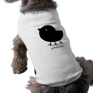Cute Yatagarasu black Pet T Shirt