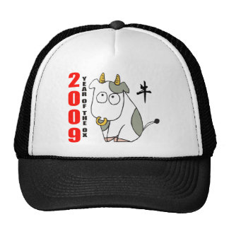 Cute Year of The Ox T-Shirt Mesh Hat